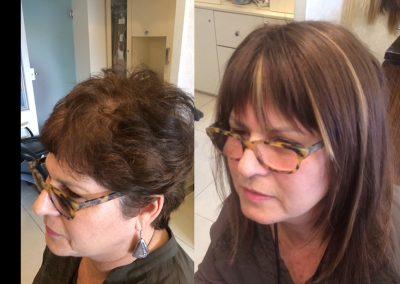 מילוי והארכה לשיער דליל